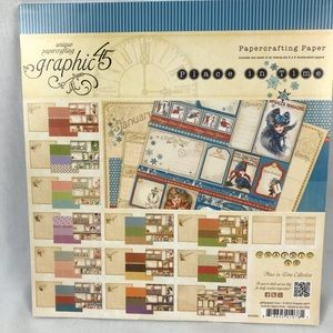 Graphic 45 Place In Time Scrapbook Pages